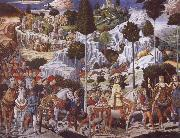 The Procession of the Magi,Procession of the Youngest King, Benozzo Gozzoli