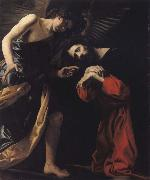 CRESPI, Giovanni Battista THE agony of Christ oil painting reproduction