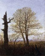 Carl Gustav Carus Landscape in Early Spring