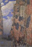 The Fourth of July, Childe Hassam
