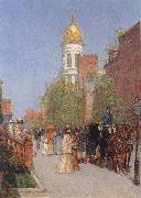 A Spring Morning, Childe Hassam