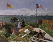 Terrace at Sainte-Adresse, Claude Monet