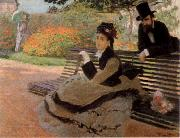 The Bench, Claude Monet