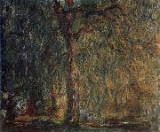 Weeping Willow, Claude Monet