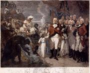 Lord Cornwallis Receiving the Sons of Tipu Sultan as Hostages