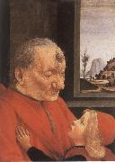 An Old man with his grandson, Domenico Ghirlandaio