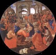 Domenico Ghirlandaio Adoration of the Magi oil painting