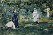 A Game of Croquet, Edouard Manet