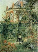 Corner of the Garden at Bellevue, Edouard Manet