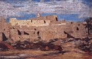 Eugene Fromentin Algerian Town oil painting on canvas