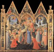 Fra Angelico The Deposition oil painting reproduction