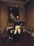 Franz Kruger Prince August von Preuben of Prussia oil painting reproduction