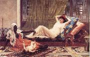 A New Attraction in t he Harem, Frederick Goodall