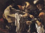 The return of the prodigal son, GUERCINO