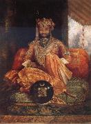 His Highness Maharaja Tukoji II of Indore