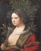 Portrait of a young woman, Giorgione