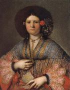 Portrait of a Venetian Lady, Girolamo Forabosco