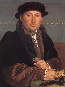 Portrait of a young mercant, Hans holbein the younger