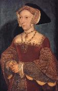 Portrait of Fane Seymour,Queen of England, Hans holbein the younger