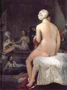 Little Bather or Inside a Harem, Jean Auguste Dominique Ingres