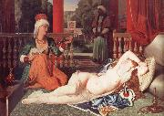 Odalisque with a Slave, Jean Auguste Dominique Ingres