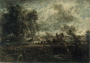 John Constable A Study for The Leaping Horse