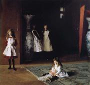 The Daughters of Edward D.Boit, John Singer Sargent