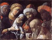 The adoration of the Konige, Andrea Mantegna