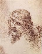 Head and shoulders Christs, LEONARDO da Vinci