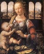 Madonna with the carnation, LEONARDO da Vinci