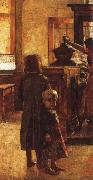 Lesser Ury Estaminer oil painting