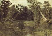 In the park, Levitan, Isaak