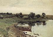 Levitan, Isaak At Flubchen oil painting reproduction