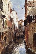 Canal in Venice, Levitan, Isaak