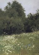 Meadow at the forest edge, Levitan, Isaak
