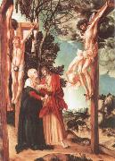 Lucas Cranach the Elder The Crucifixion oil painting reproduction