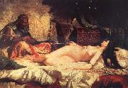 Mariano Fortuny y Marsal Odalisque oil painting