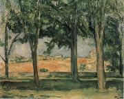 Chestnut Trees at Jas de Bouffan, Paul Cezanne