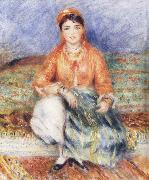 Pierre-Auguste Renoir Seated Algerian oil painting reproduction