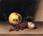 Raphaelle Peale Still Life with Cake oil painting