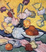 Samuel John Peploe Tulips and Cup oil painting