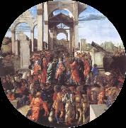 Adoration of the Kings, Sandro Botticelli
