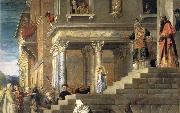 Presentation Maria in the temple, TIZIANO Vecellio