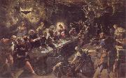 The communion, Tintoretto