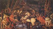 The Battle of San Romano, UCCELLO, Paolo