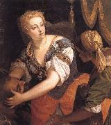 VERONESE (Paolo Caliari) Fudith with the head of Holofernes oil painting reproduction