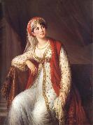 VIGEE-LEBRUN, Elisabeth Madame Grassini in the Role of Zaire oil painting artist