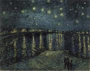 Starry Night over the Rhone, Vincent Van Gogh