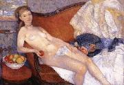 William J.Glackens Girl with Apple