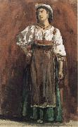 William Stott of Oldham Italian Woman oil painting reproduction